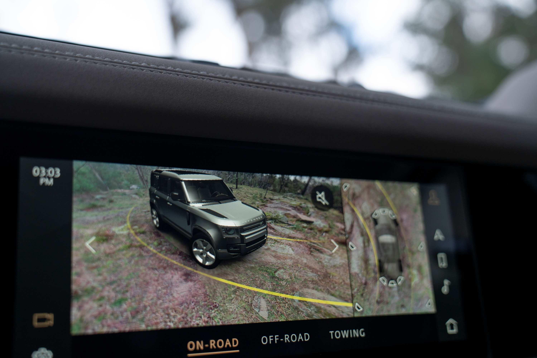 Land Rover Defender rear