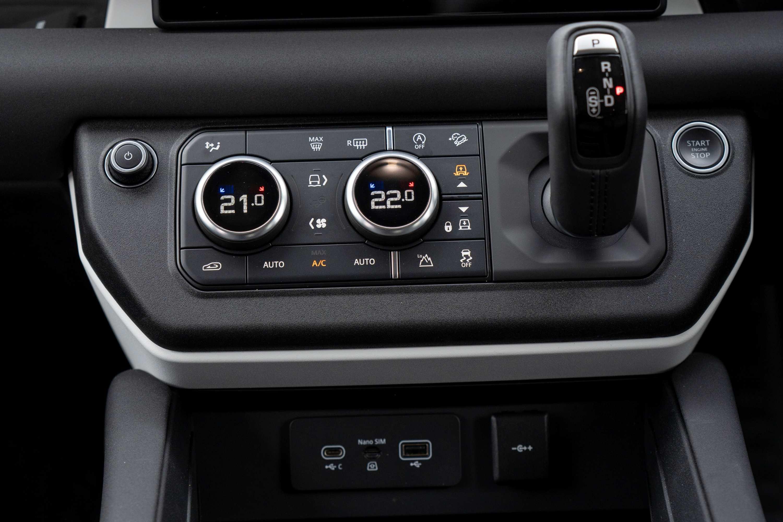 Land Rover Defender transmission