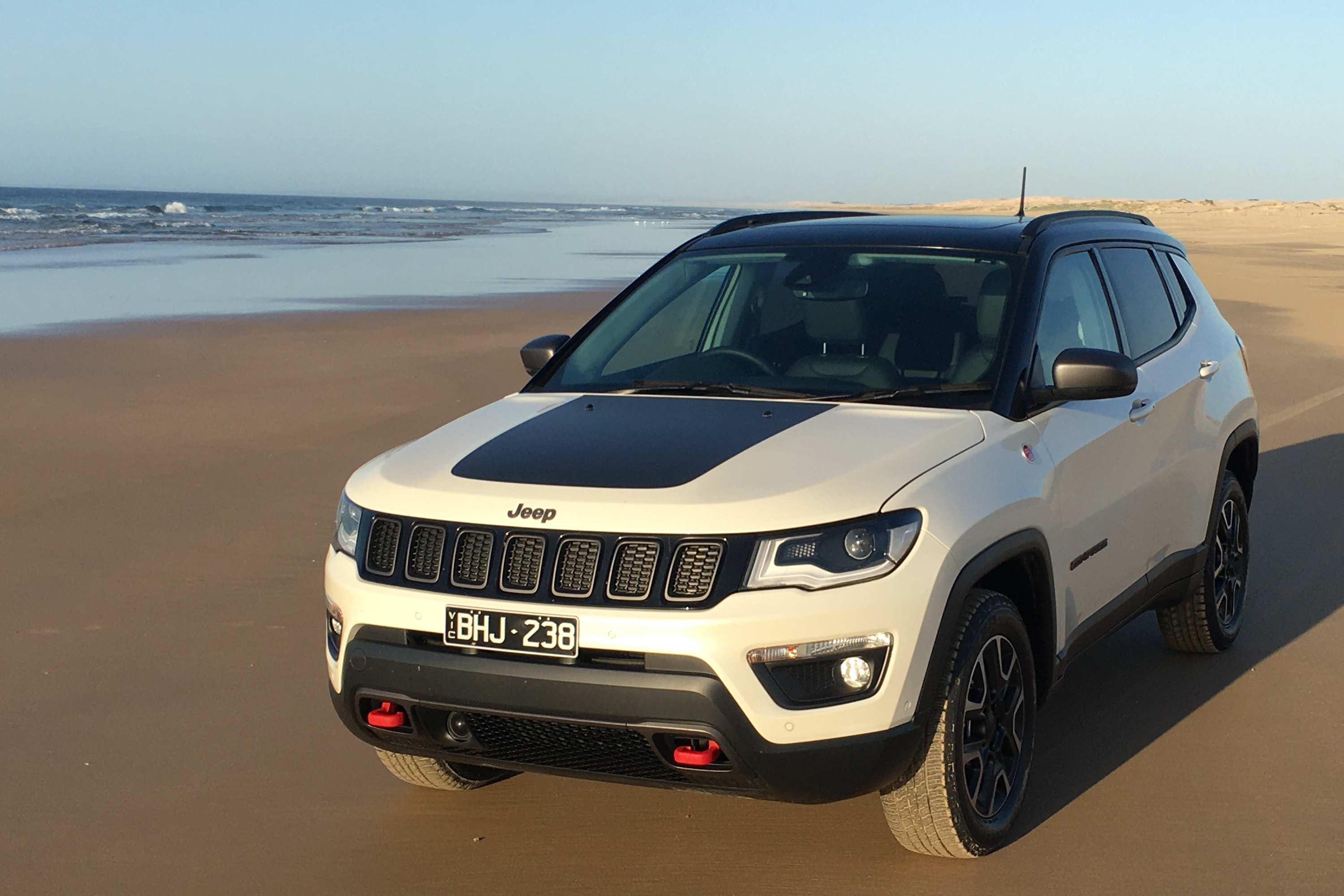 2020 Jeep Compass Trailhawk beach 3