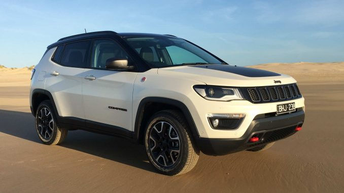 2020 Jeep Compass Trailhawk front qtr