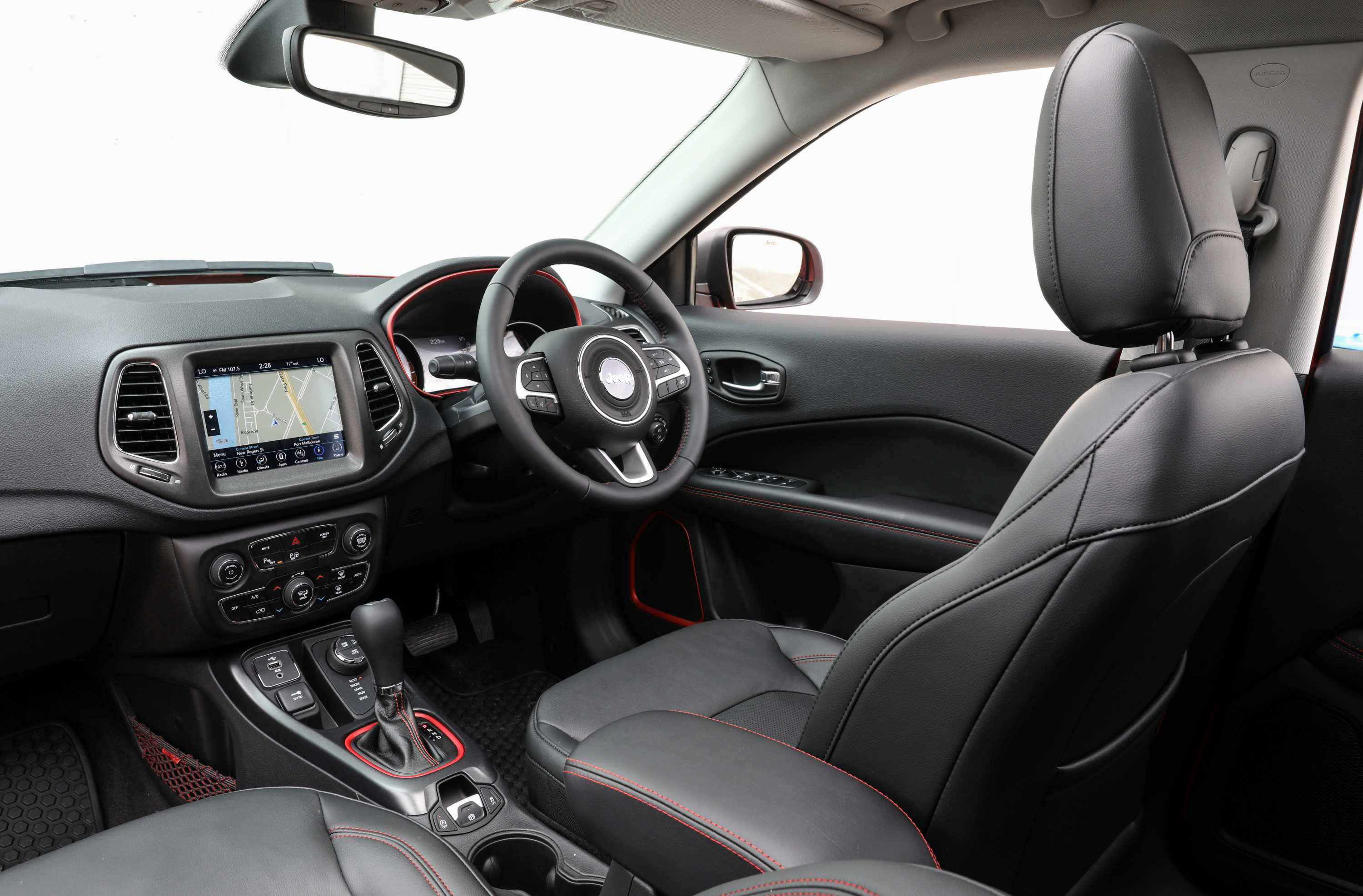 2020 Jeep Compass Trailhawk interior