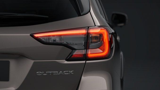 MY21 Subaru Outback, overseas model shown.