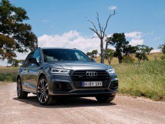 Audi SQ5 TDI front qtr