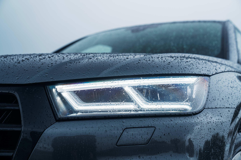 Audi SQ5 TDI matrix lights