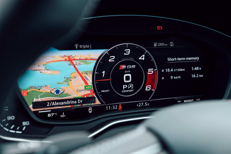 Audi SQ5 TDI safety