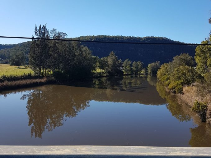 Crossing the hawkesbury