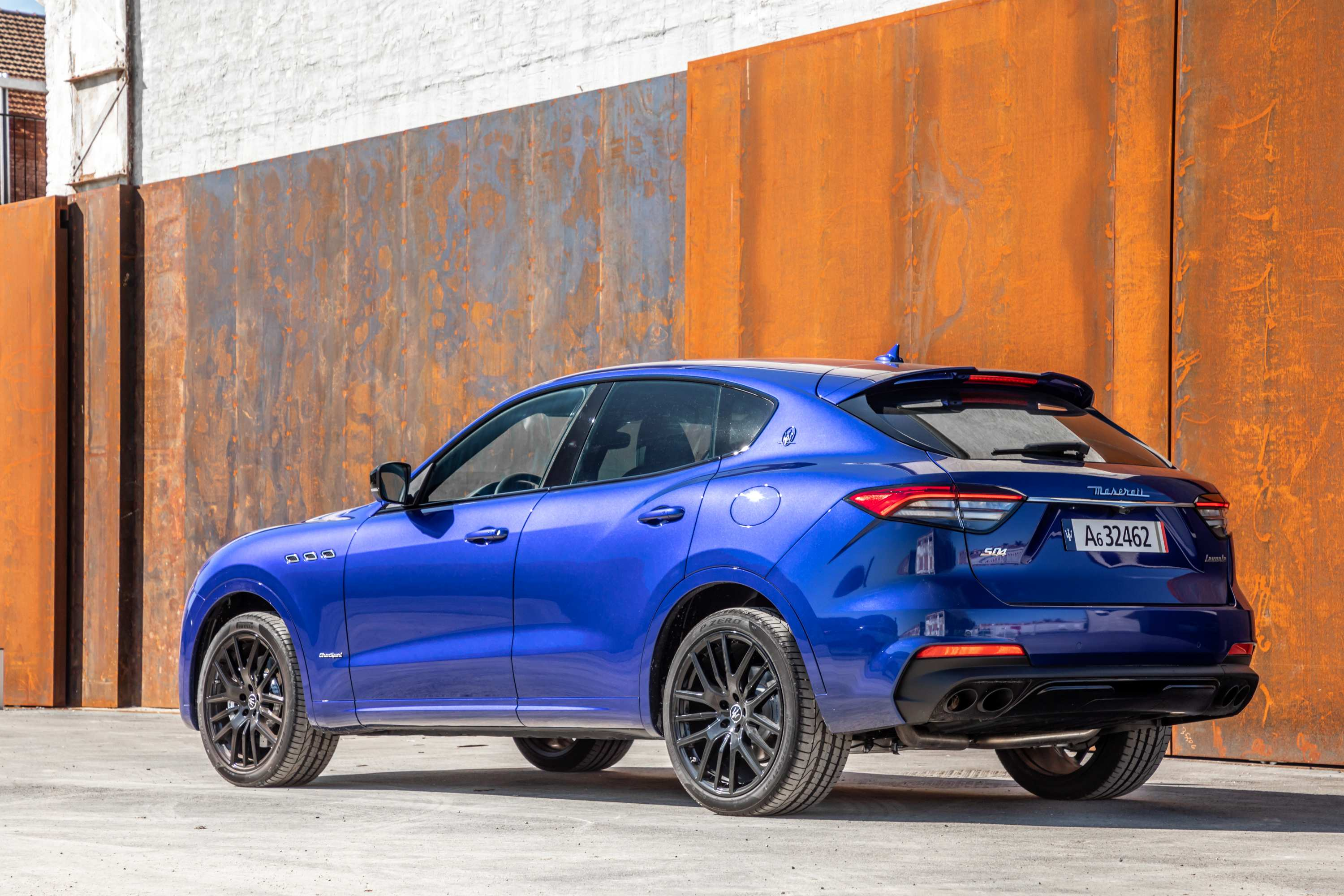 MY21 Levante_GranSport_REAR