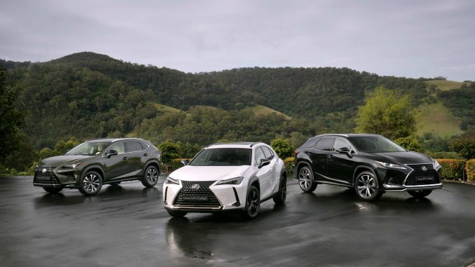 2021 Lexus Crafted Encore range
