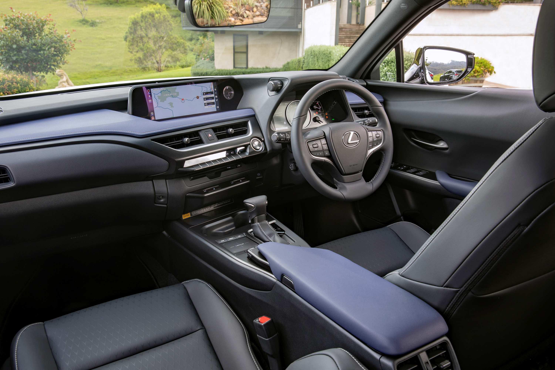 2021 Lexus Crafted Encore range interior