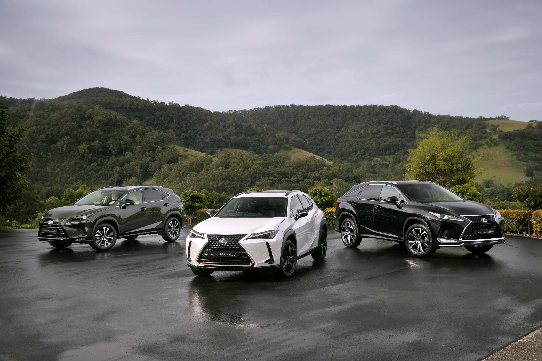 2021 Lexus Crafted Encore range
