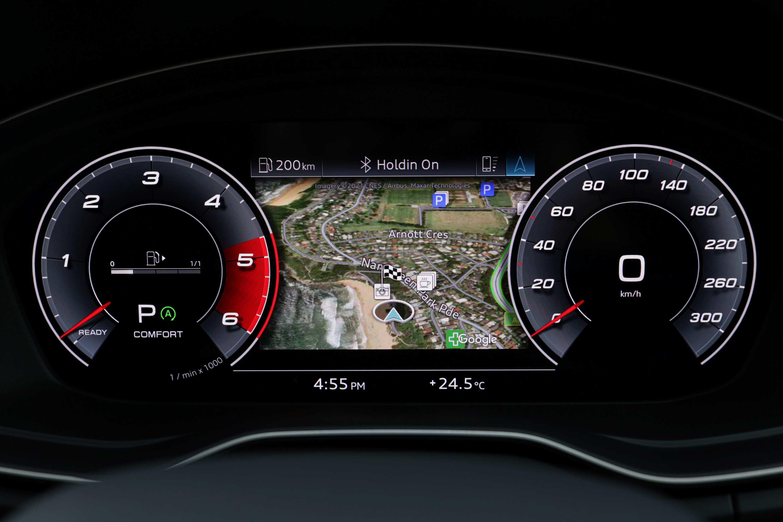 Audi Q5 2021 virtual cockpit