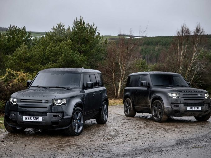 2021 Land Rover Defender V8 110 and 90