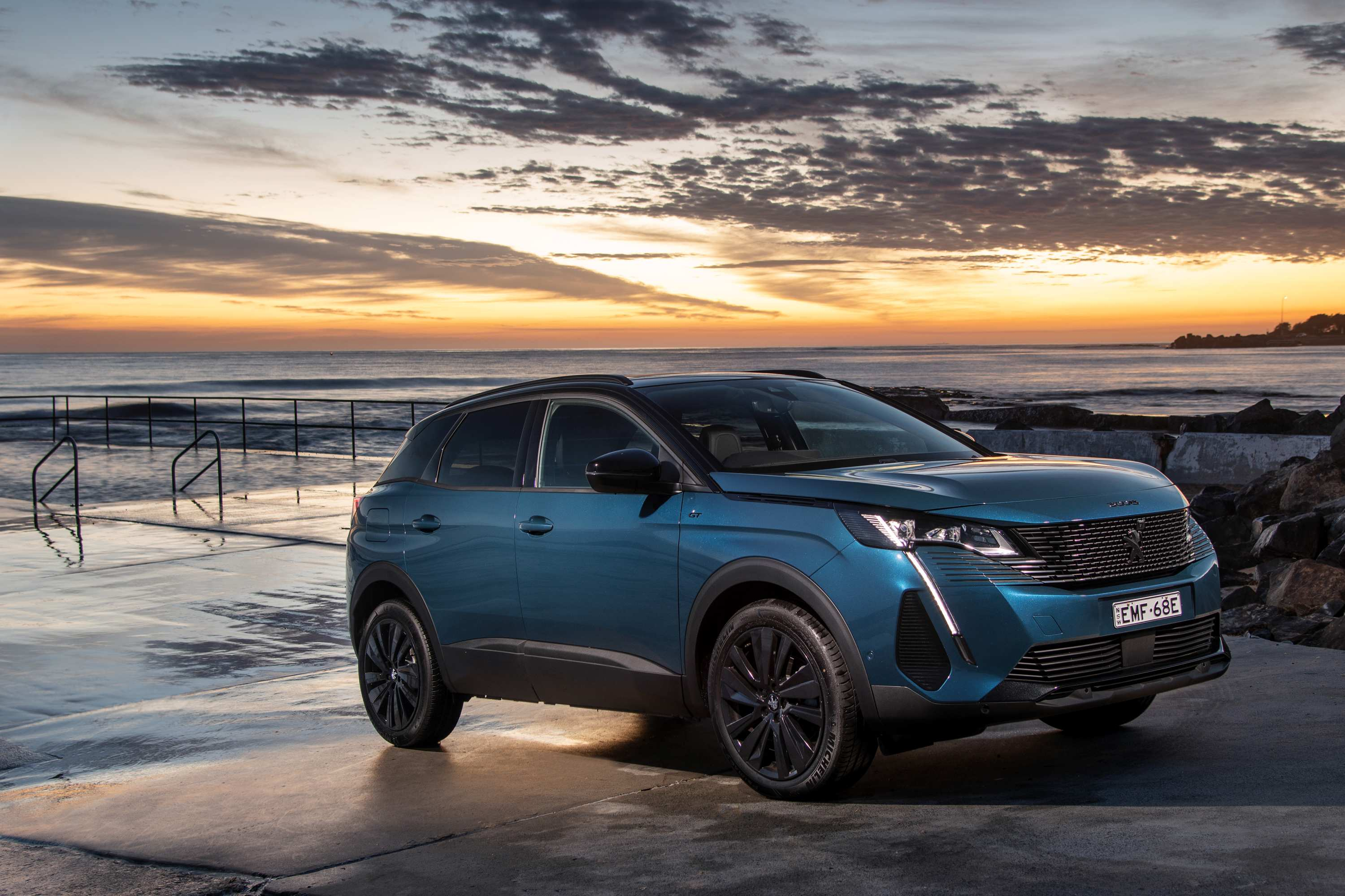 2021 Peugeot 3008 GT Sport. (Photo Narrative Post/Matthias Engesser)