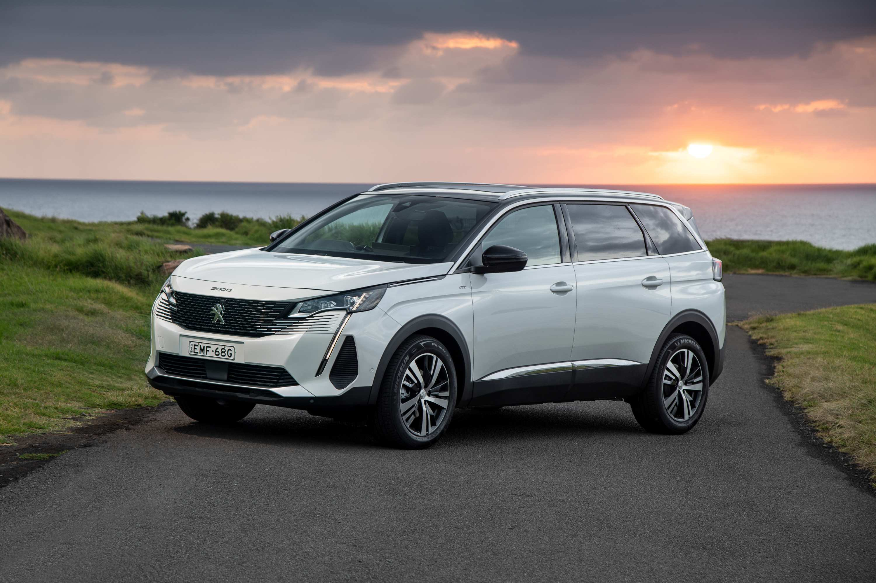 2021 Peugeot 5008 GT. (Photo Narrative Post/Matthias Engesser)