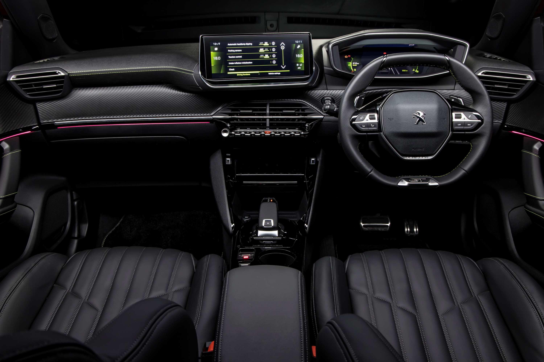 2021 Peugeot 2008 GT Sport interior