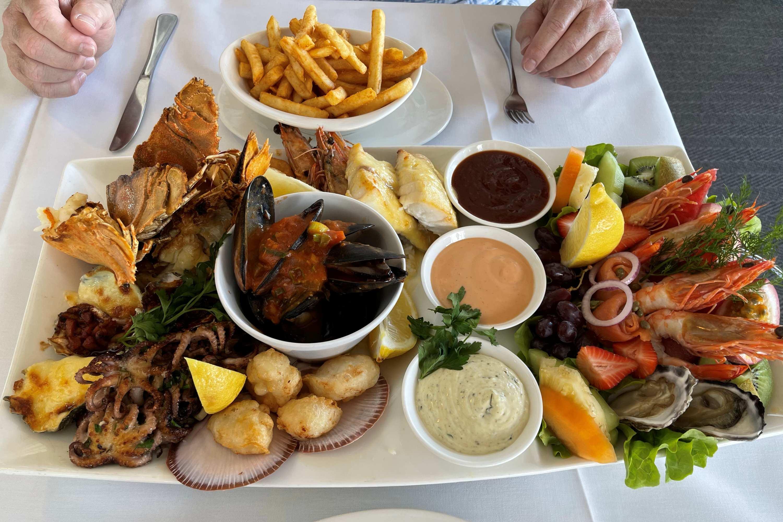 2021 Subaru Outback Touring Byron Bay Gold Coast seafood platter