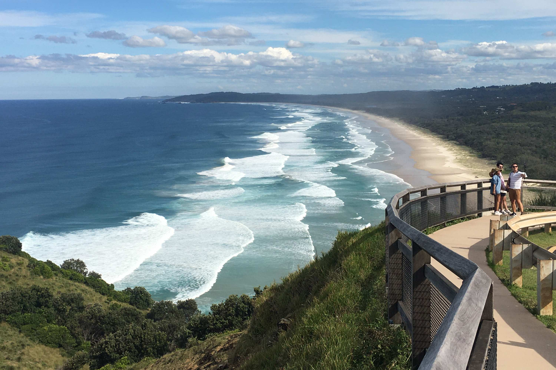 2021 Subaru Outback Touring Byron Bay lighthouse