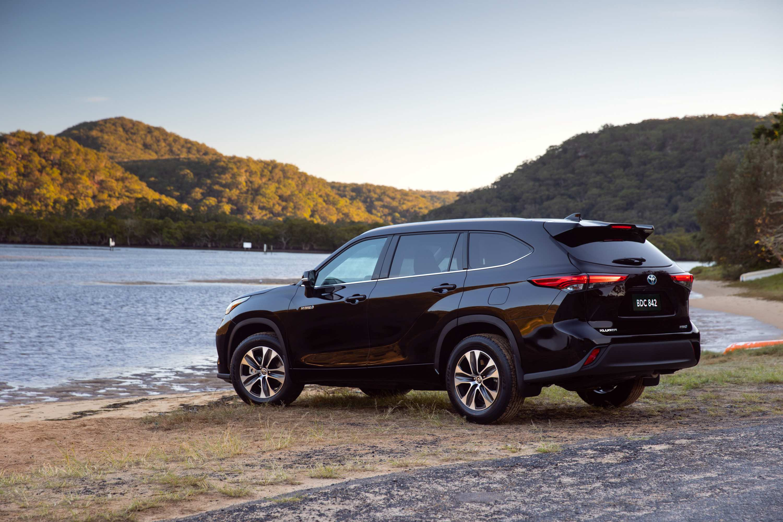 2021 Toyota Kluger GXL Hybrid