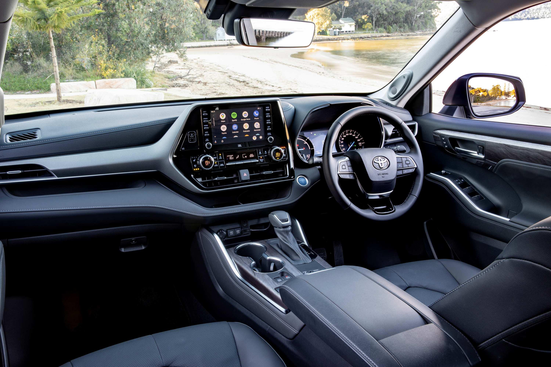 2021 Toyota Kluger Grande Hybrid
