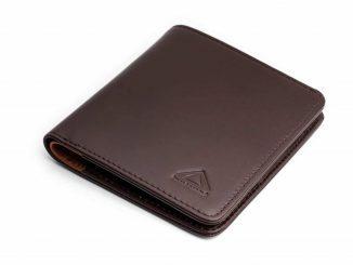 karakoram2 Sublime mens bifold leather wallet pulltab tan RFID protected Australia 2