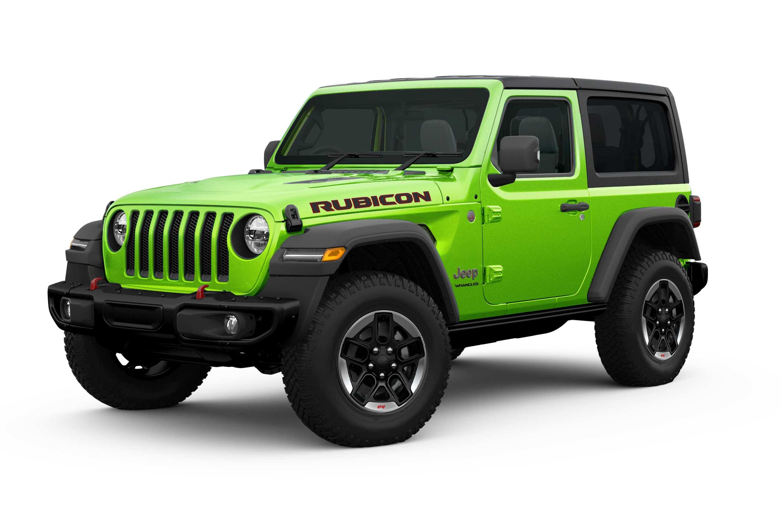 2021 Jeep Wrangler short Rubicon Gecko Green