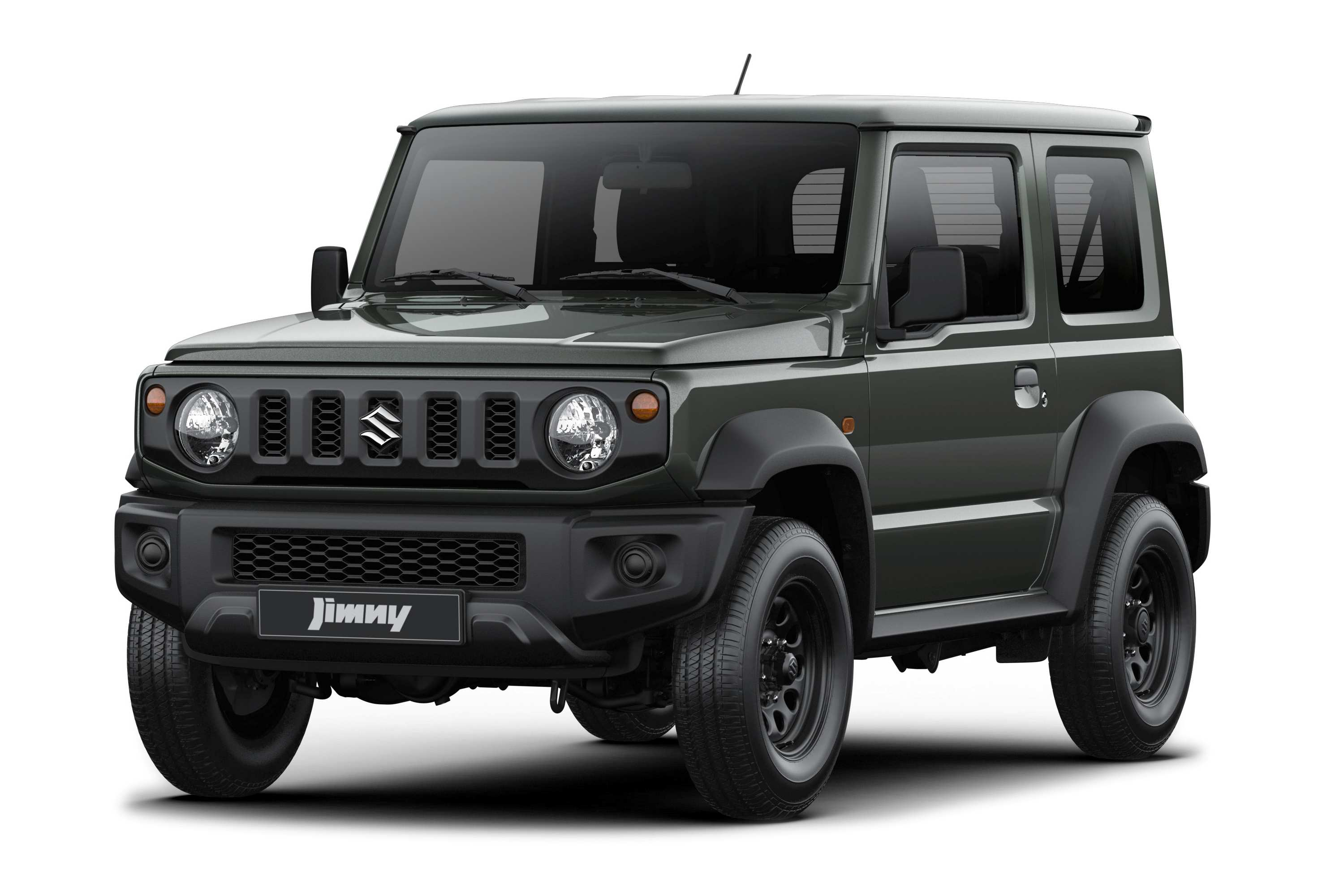 """The Jimny Lite will ride on standard 15"""" cast iron wheels, continuing to provide high levels of stability with low rolling resistance. Plastic textured side mirror covers, Halogen projector headlights without standard fog lamps are the only other notable exterior differences to the Jimny already on our roads."""