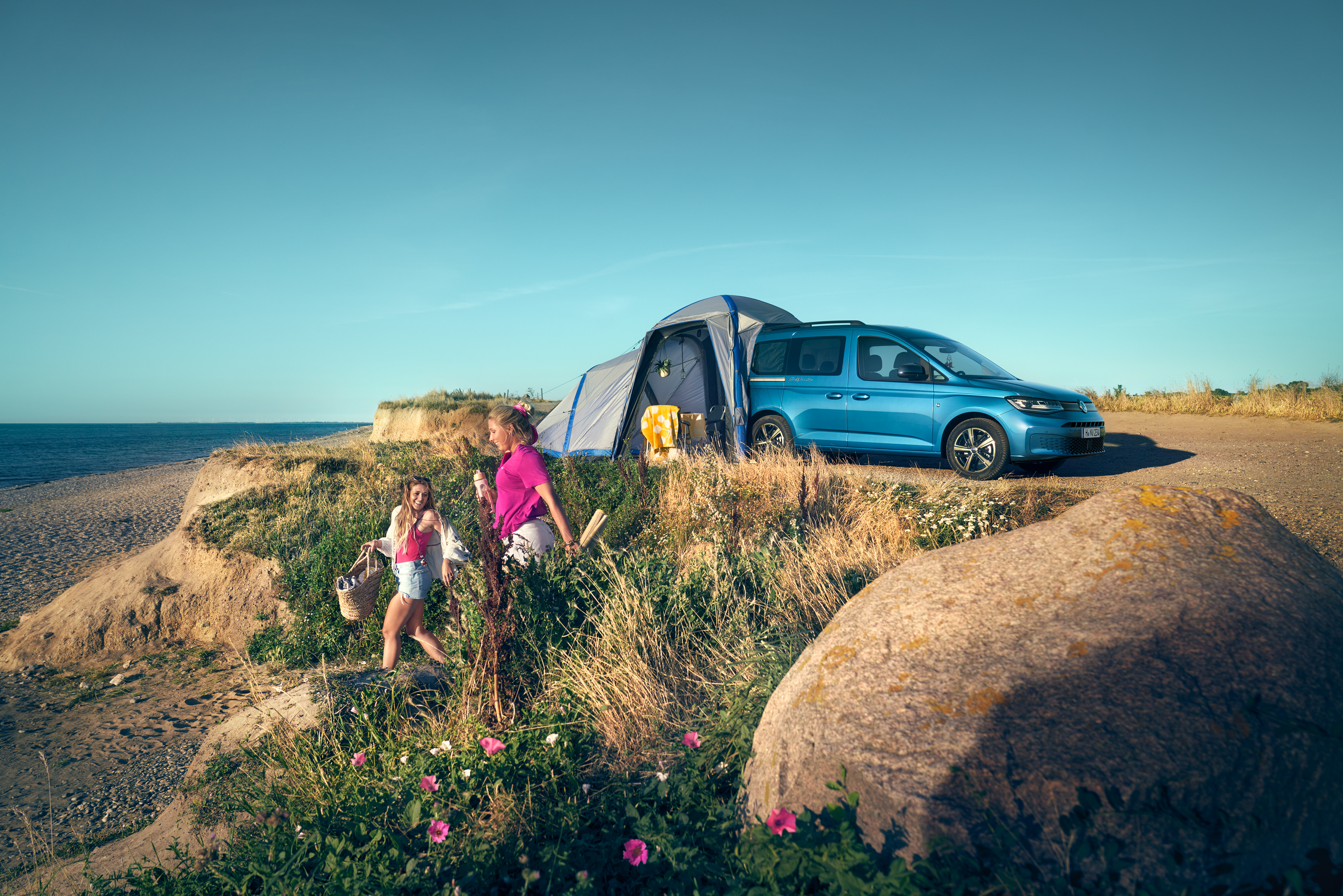 Caddy California Maxi, available to order online now, priced from $54,990 RRP, for deliveries in Q1 2022.