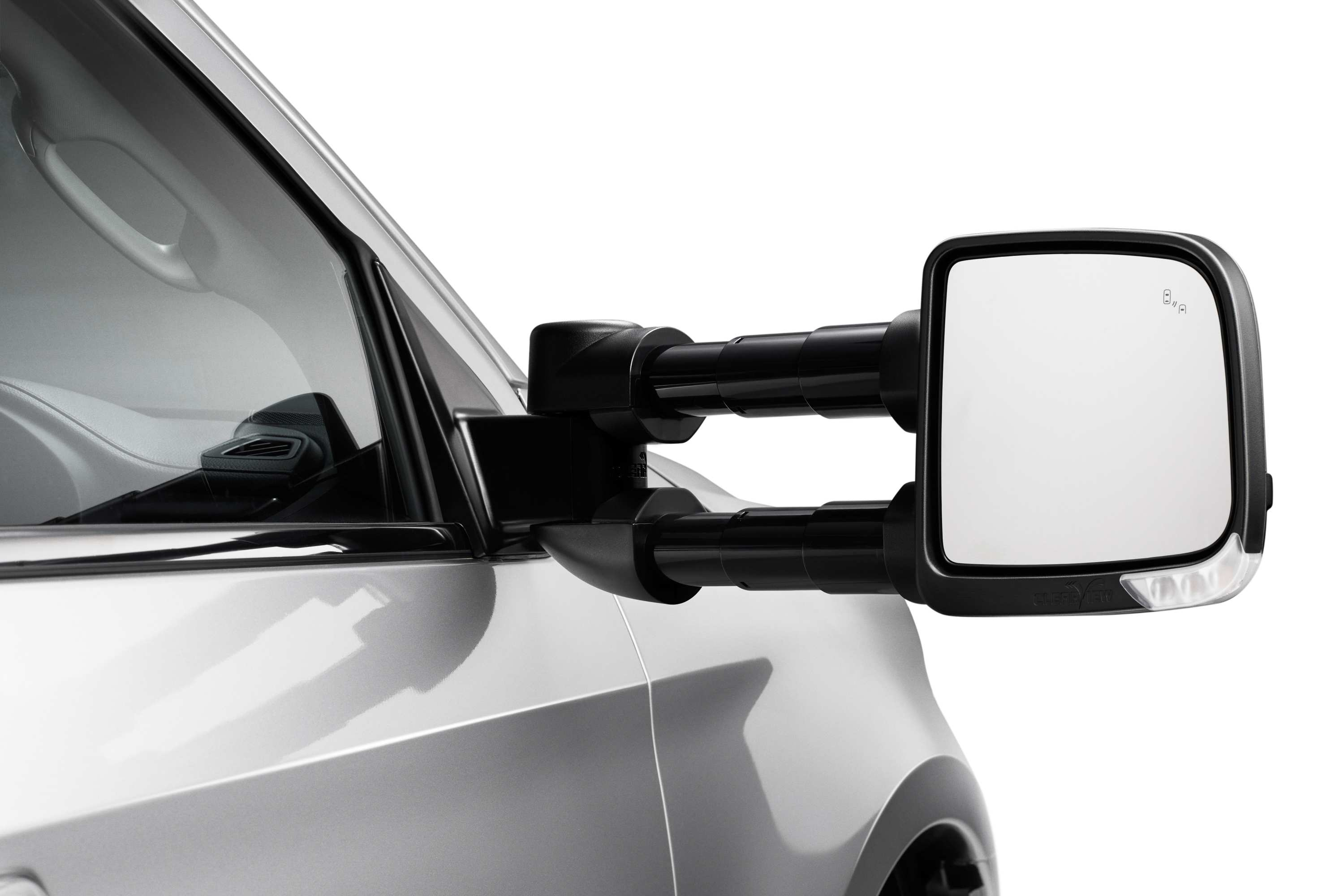 21MY ISUZU MU-X LS-U & LS-T - Clearview Towing Mirrors Compact Extended.