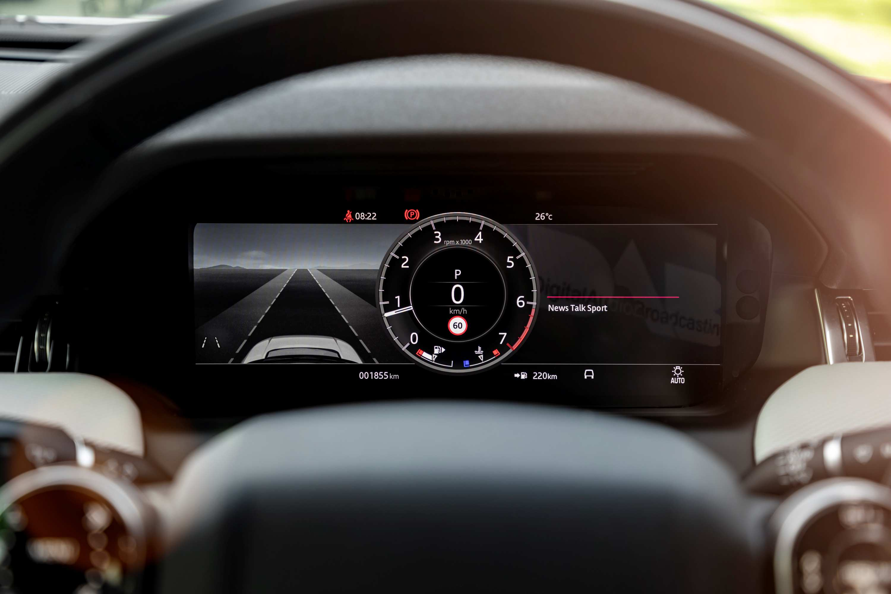 2021 Land Rover Discovery Sport R-Dynamic SE driving display