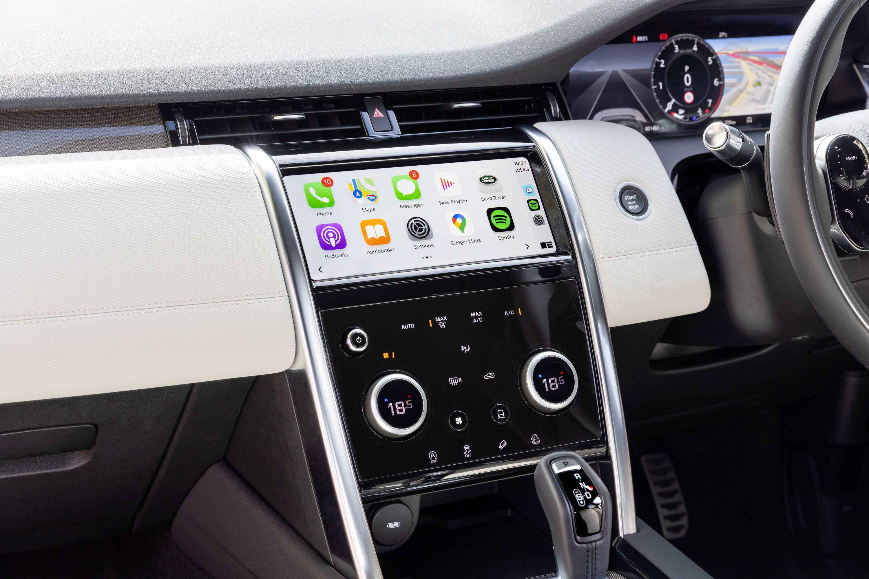 2021 Land Rover Discovery Sport R-Dynamic SE interior 1