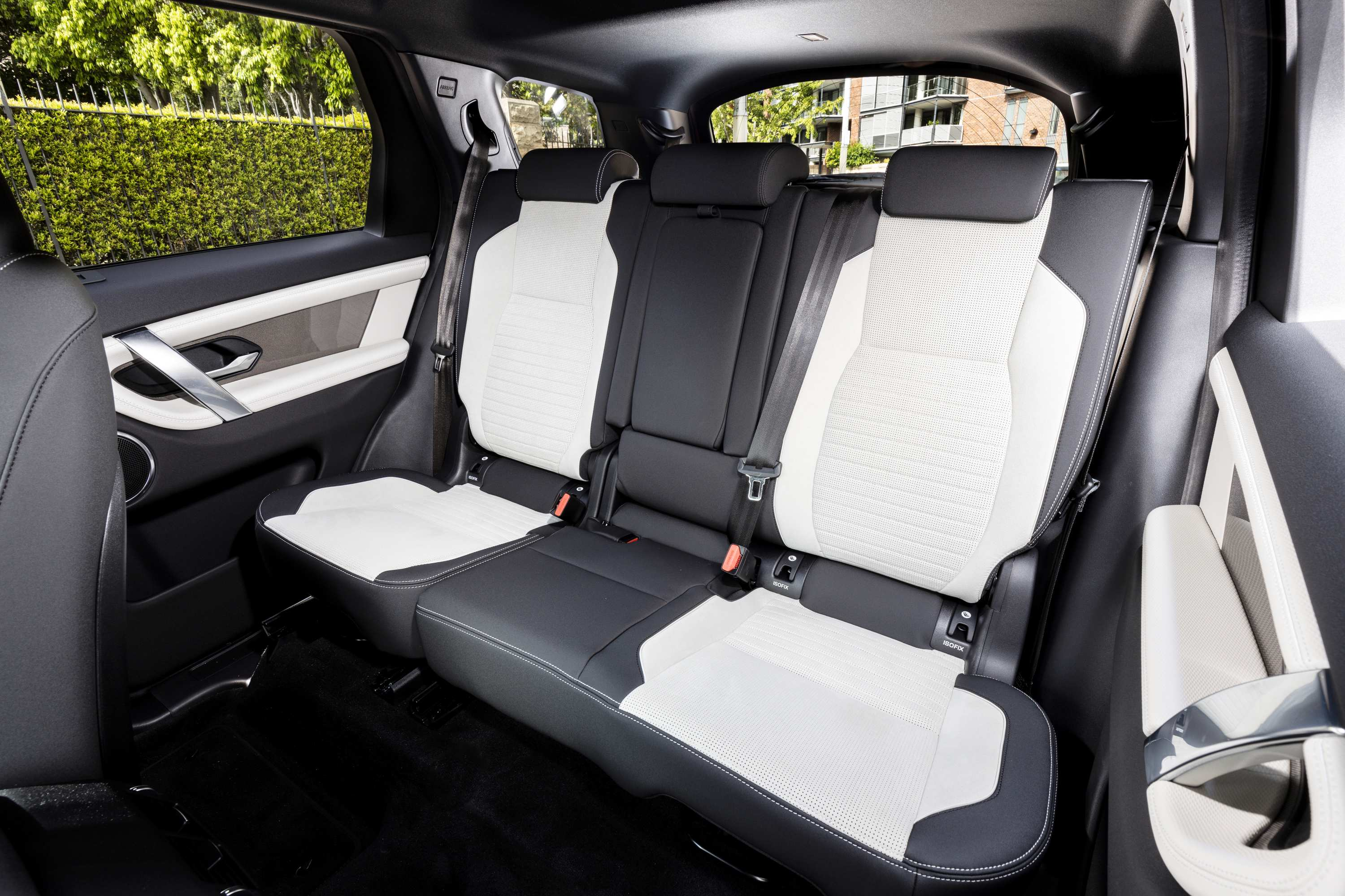 2021 Land Rover Discovery Sport R-Dynamic SE second row seats