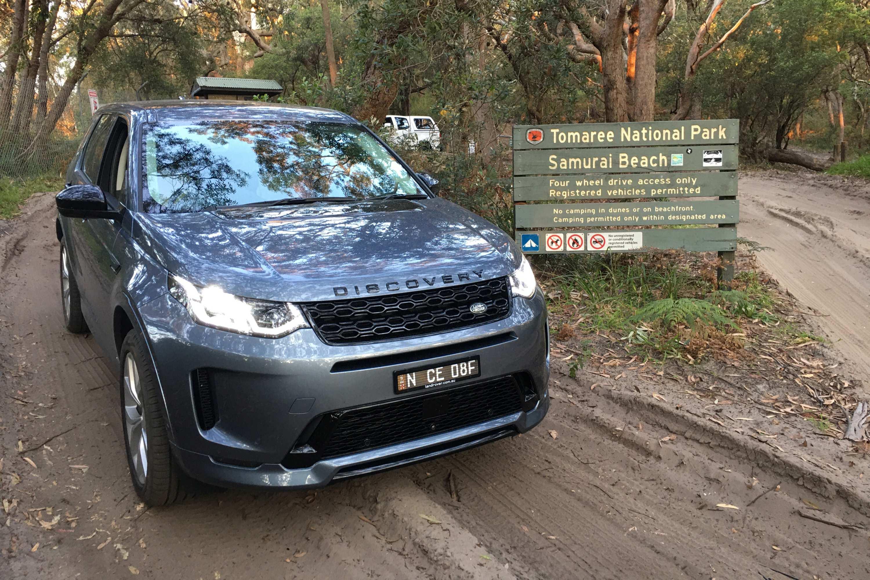 2021 Land Rover Discovery Sport R Dynamic beach access