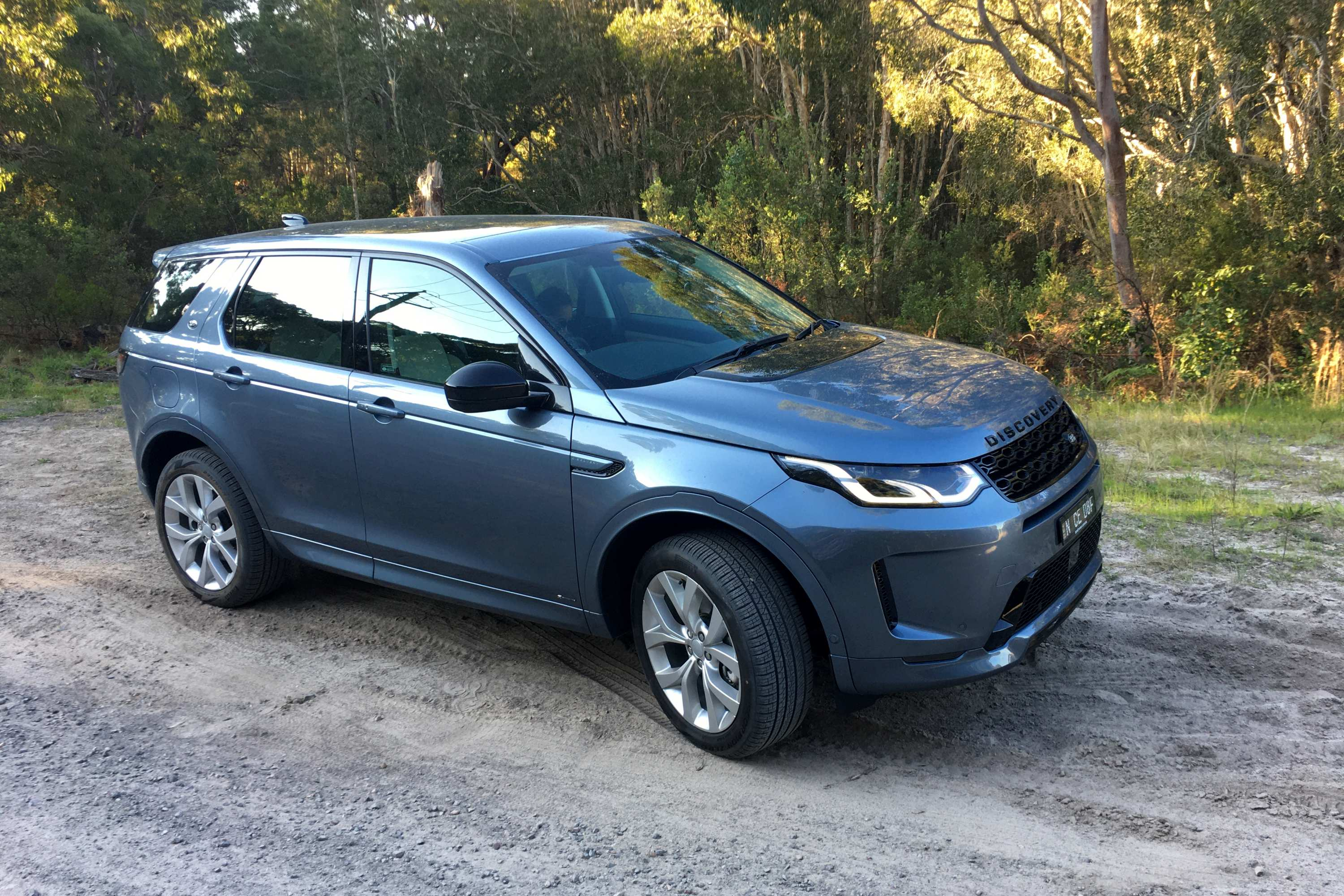 2021 Land Rover Discovery Sport R Dynamic dirt driving