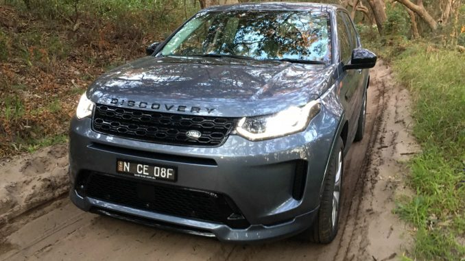 2021 Land Rover Discovery Sport R Dynamic sand driving