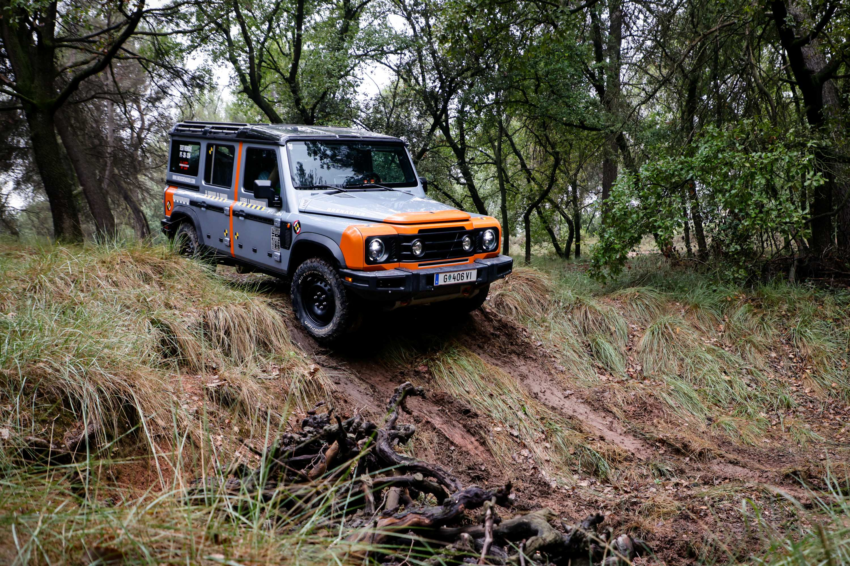 INEOS Grenadier 2B Tour 4WD testing 1