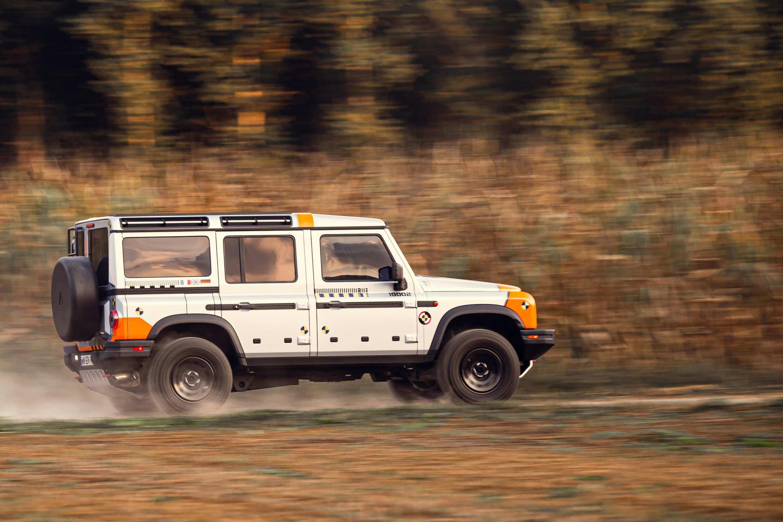 INEOS Grenadier 2B Tour 4WD testing 3