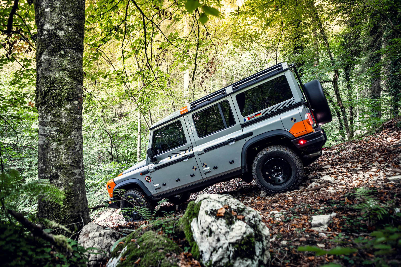INEOS Grenadier 2B Tour 4WD testing 4