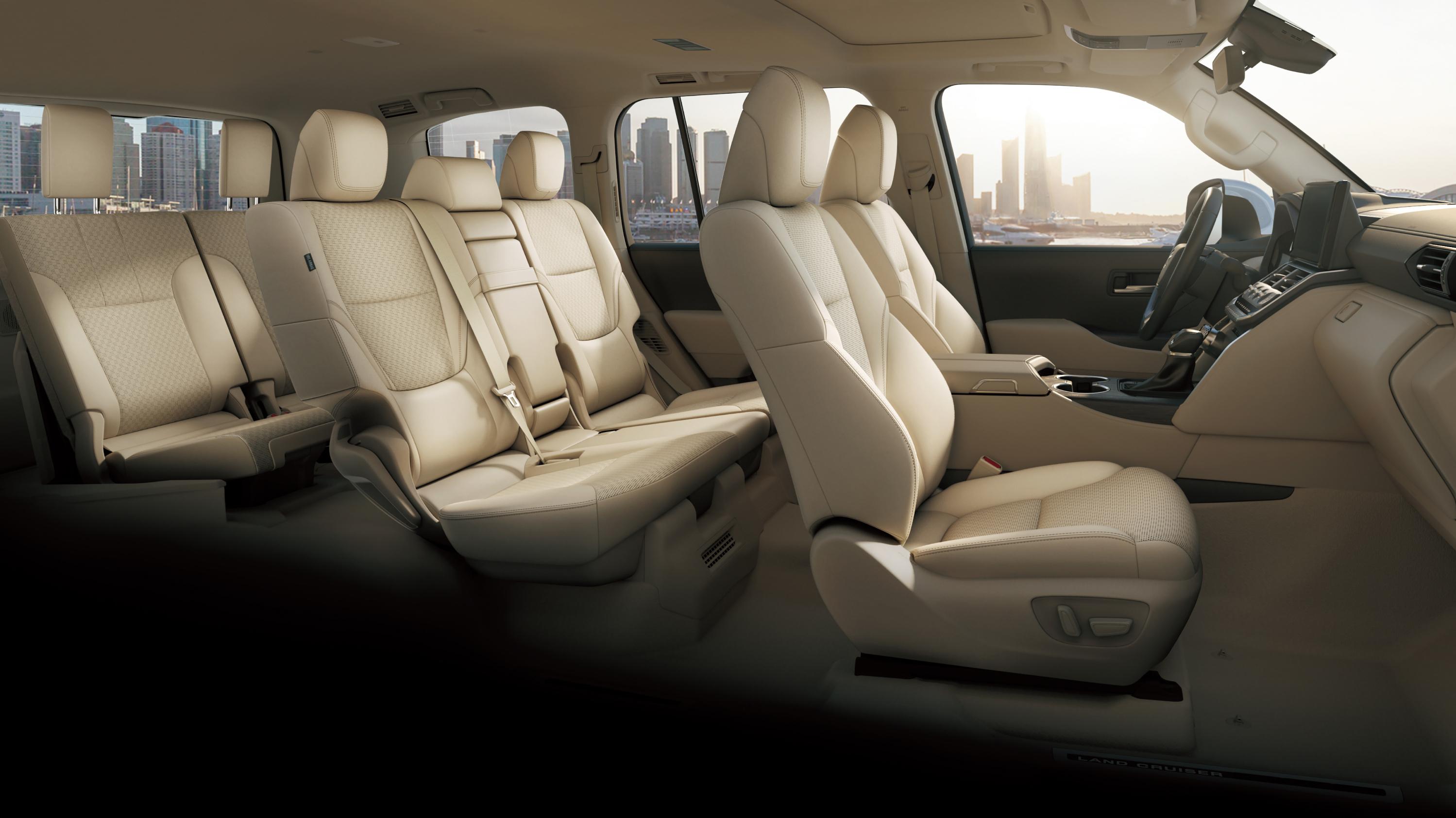 Toyota LandCruiser 300 series interior