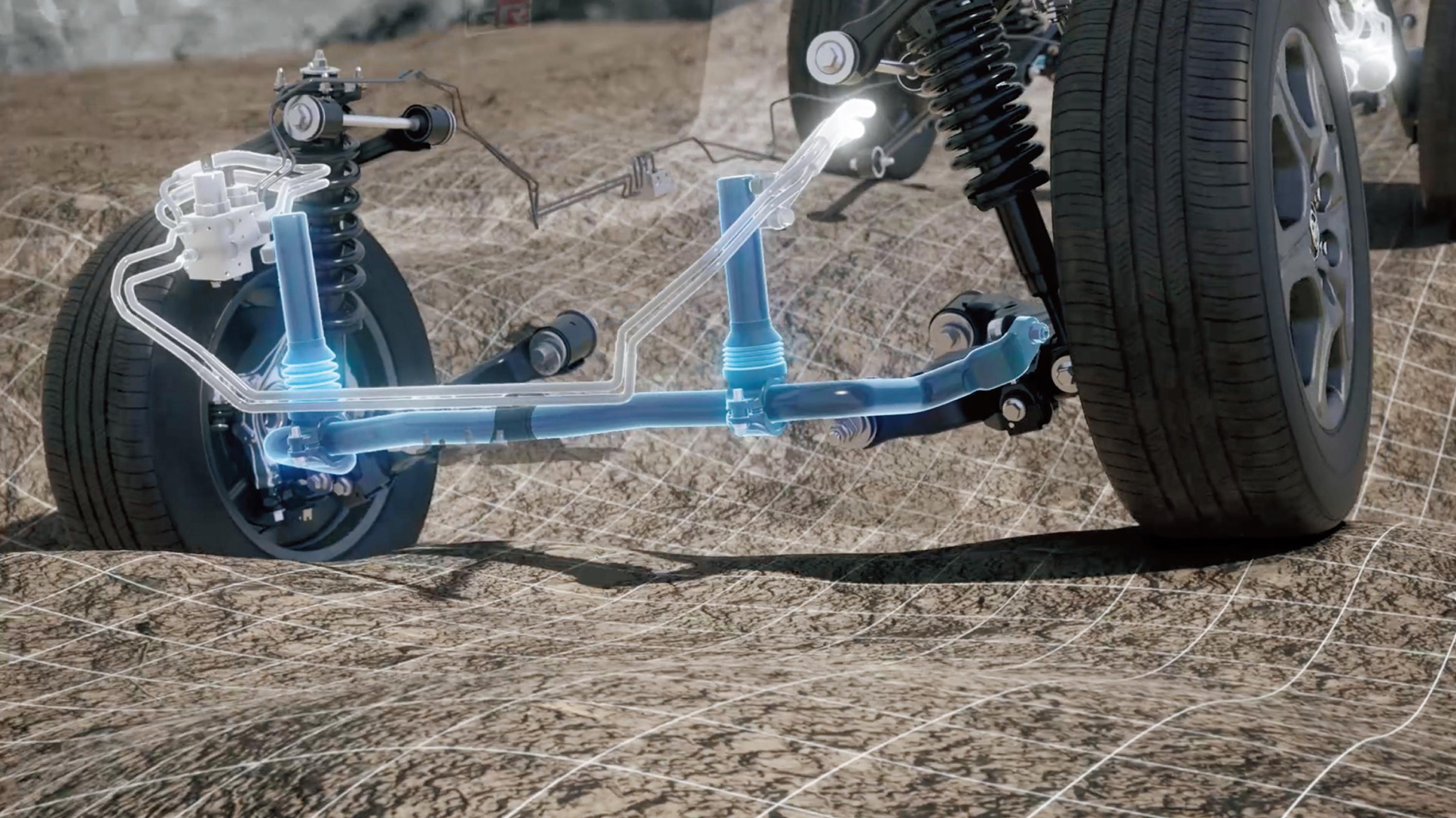 Toyota LandCruiser 300 series suspension
