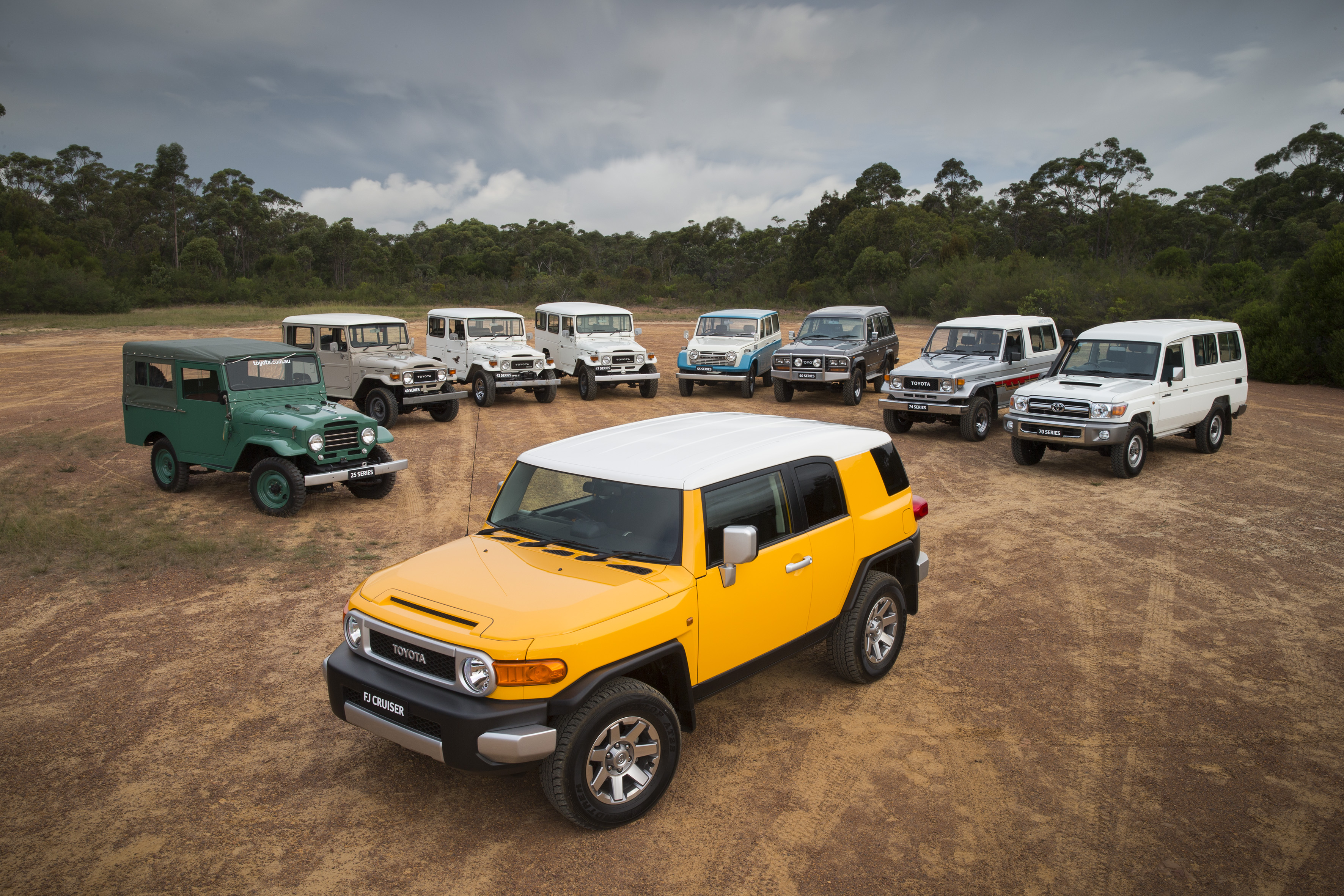 Toyota is celebrating the 70th anniversary of the legendary LandCruiser nameplate.