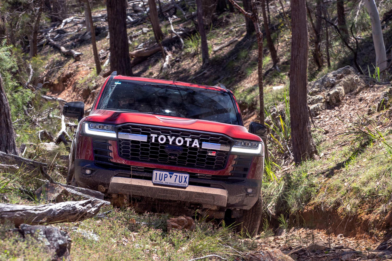 Toyota LandCruiser 300 series launch exterior GR Sport